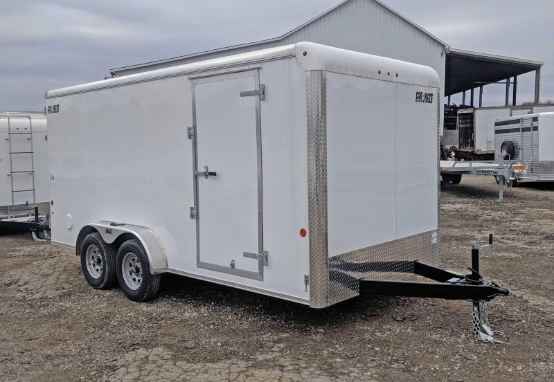 NEW 2018 Car Mate 7X16 HD Custom Cargo Trailer w/ Barn Doors & 6