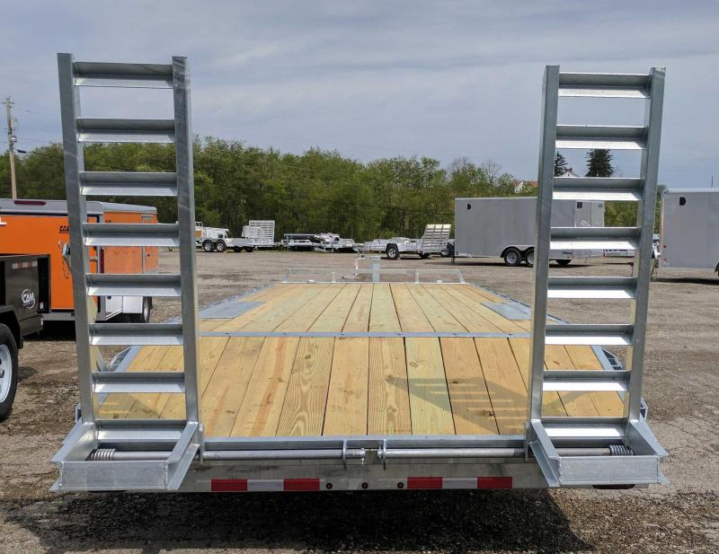 NEW 2018 Load Rite 20+4 Deckover Tagalong Equipment Trailer