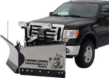 NEW SnowDogg 7.5' Medium Duty Stainless Steel V-Plow- 2 LEFT IN STOCK