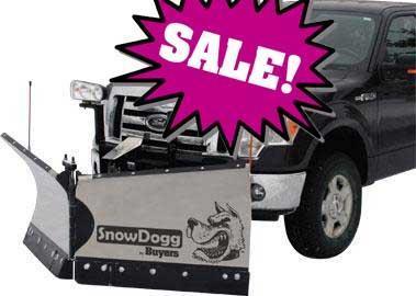 SALE!!! NEW SnowDogg 7.5' Medium Duty Stainless Steel V-Plow- 2 LEFT IN STOCK