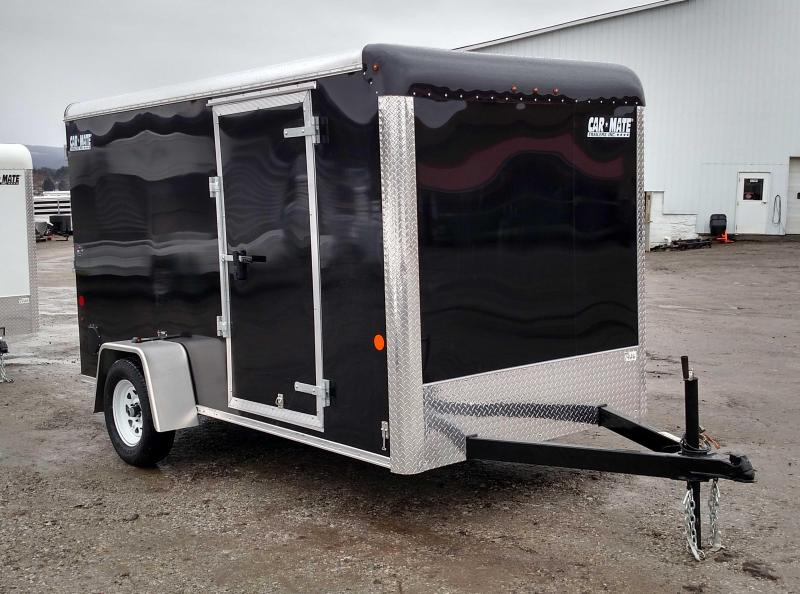 NEW 2017 Car Mate 6x12 Custom Cargo w/ Ramp Rear Door