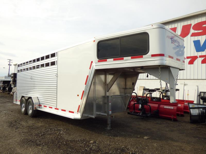 NEW 2017 Frontier 20' Stock/Combo Aluminum Trailer
