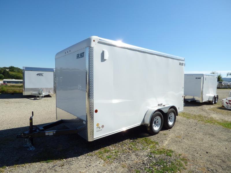 NEW 2018 Car Mate 7X14 Custom Cargo w/Barn Doors & 6