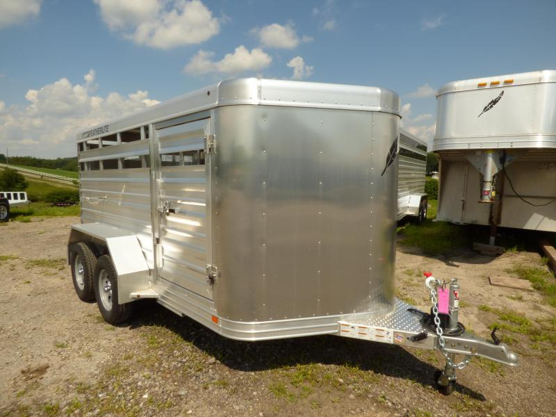 NEW 2017 Featherlite 12 Lo Pro Aluminum Stock Trailer Horse Trailer