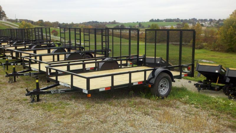 NEW 2018 Quality 6x12 Econo Utility Trailer