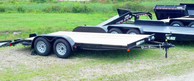 NEW 2018 Quality 18' Econo Car Hauler w/Slide-Out Ramps