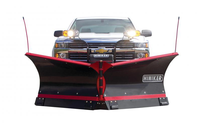 NEW Hiniker 9.5' Poly V-Plow w/ Torsion Spring