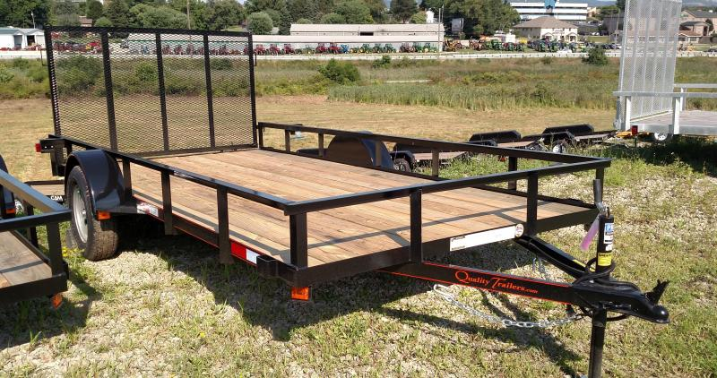 NEW 2018 Quality 7x14 General Duty Utility Trailer