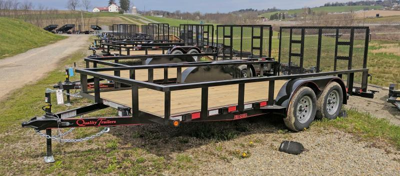 NEW 2018 Quality 7X16 PRO Utility Trailer w/ Spring Assist Gate (NO DOVE)