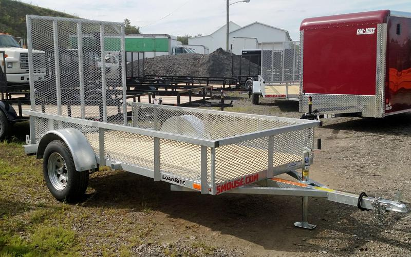 NEW 2018 Load Rite 5x10 Utility w/ Mesh Sides & Spring Assist Gate