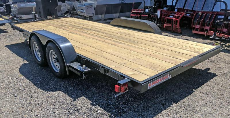 NEW 2017 Quality 18' Econo Car Hauler - No Dove (GREAT FOR SIDE BY SIDES!)
