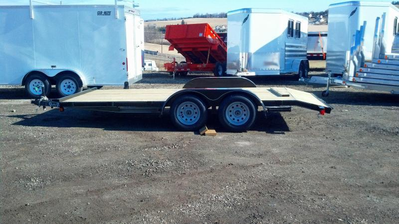 NEW 2018 Quality 16' Econo Car Hauler w/Slide-Out Ramps