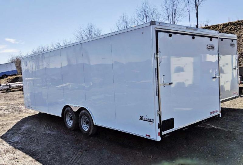 NEW 2020 Cargo Express 8.5 x 24 XLW Sloped V-Nose Car Hauler