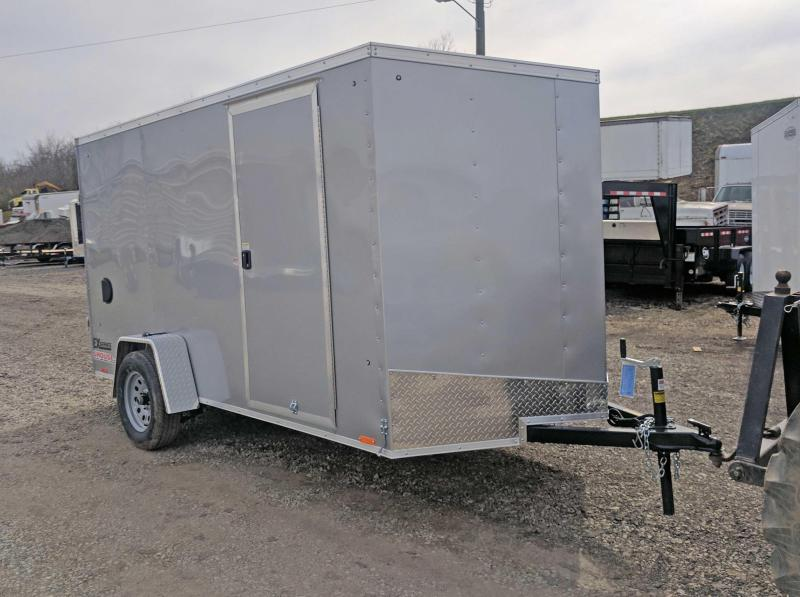 NEW 2017 Cargo Express Trailer 6X12 EX DLX Sloped V-Nose w/ Ramp Door