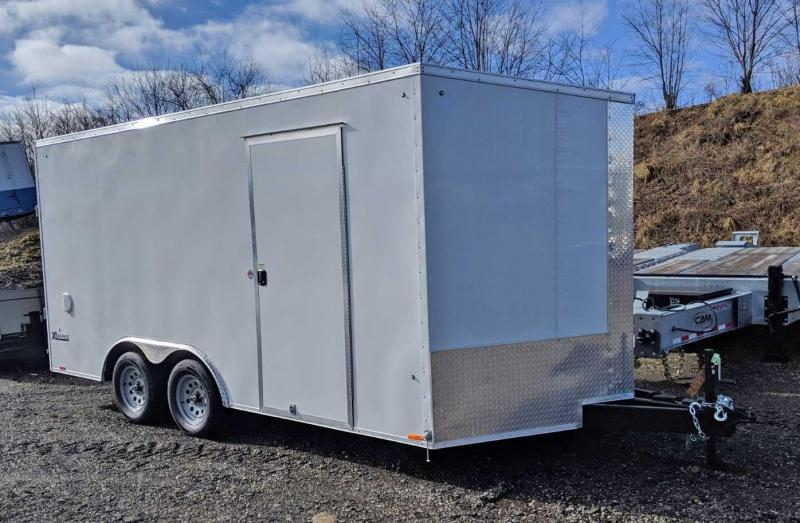 NEW 2020 Cargo Express 8.5 x 16 XLW Sloped V-Nose Car Hauler (6
