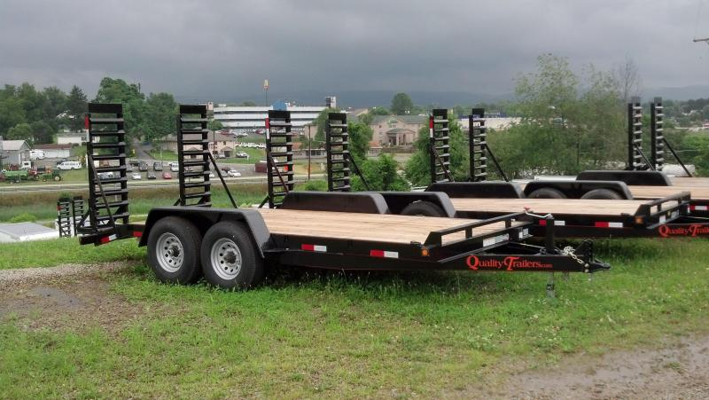 NEW 2018 Quality 18' General Duty Equipment Trailer w/ 2' Dove