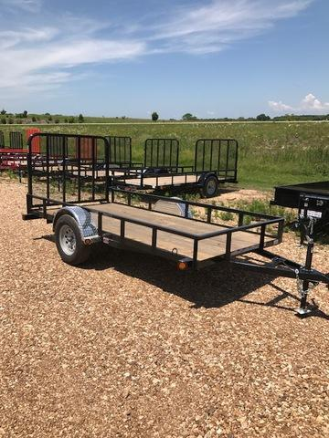 2017 Load Trail 38468 Utility Trailer 66
