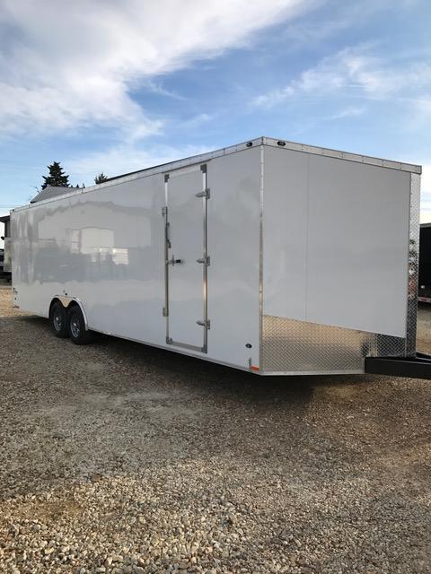 2017 Stealth Trailers 57650 Enclosed Cargo Trailer TITAN SE 8.5' X 28' FINISHED INT. ESCAPE DOOR ALUM. WHEELS