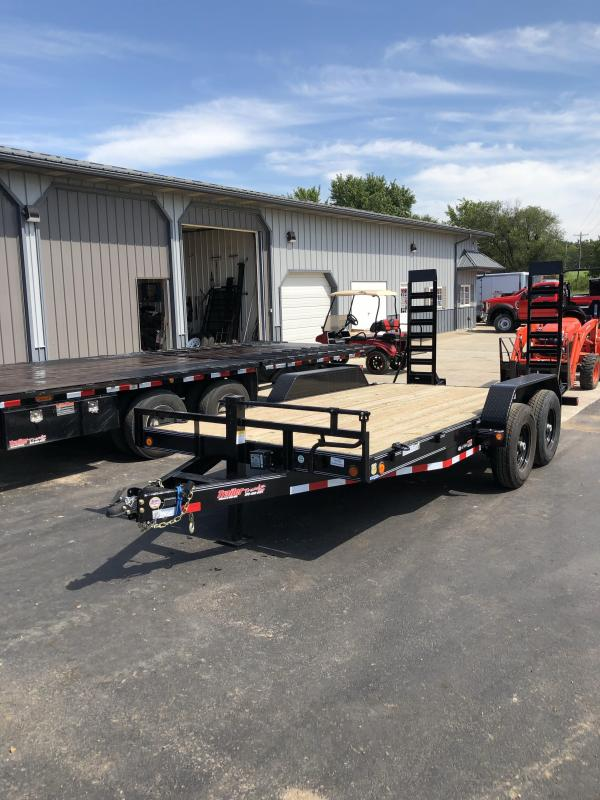 2019 Load Trail 83X16 LOADTRAIL 14K GVW ELEC BRAKES 2' DOVE Flatbed Trailer