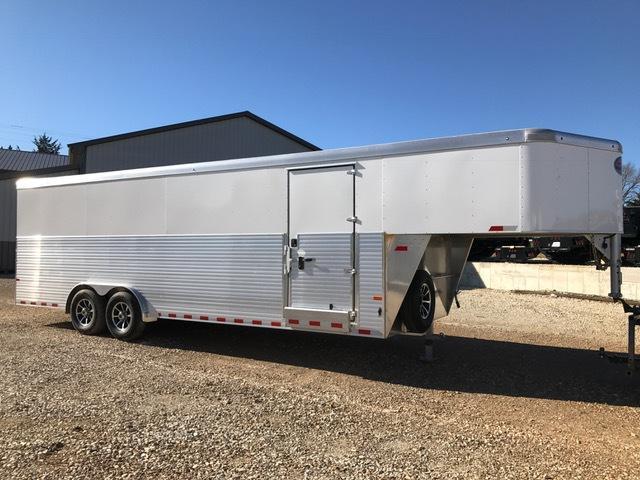 2017 Sundowner Trailers A1693 Enclosed Cargo Trailer 8' X 24' GOOSENECK 48