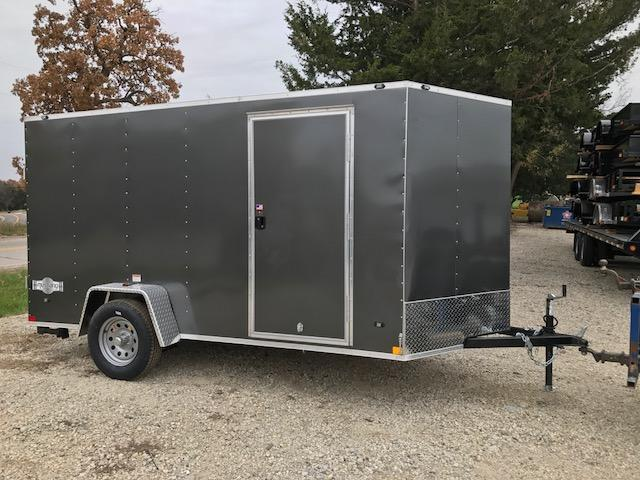 2018 Stealth Trailers 6X12 MUSTANG RAMP DOOR Enclosed Cargo Trailer