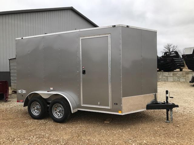 2018 Stealth Trailers 7X12 TANDEM AXLE STEALTH MUSTANG Enclosed Cargo Trailer
