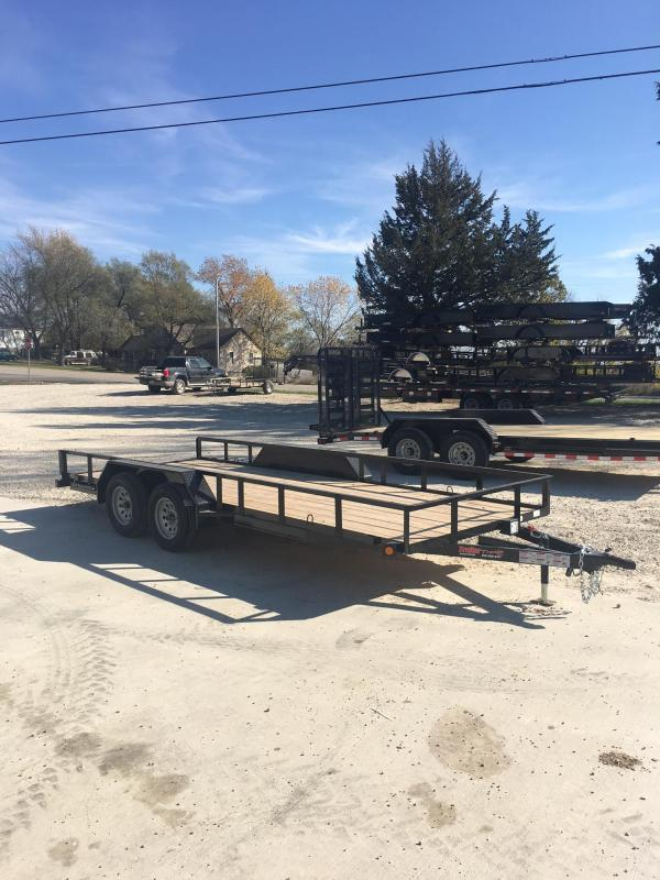2018 Load Trail 77X18 UE TANDEM AXLE Utility Trailer