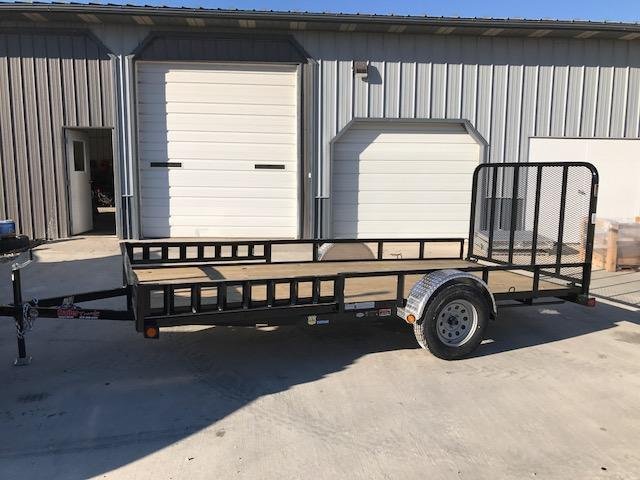 2018 Load Trail 77X14 SE SINGLE AXLE Utility Trailer