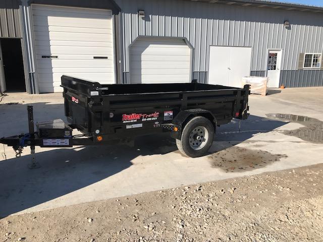 2018 Load Trail 5X10 5K SINGLE AXLE Dump Trailer