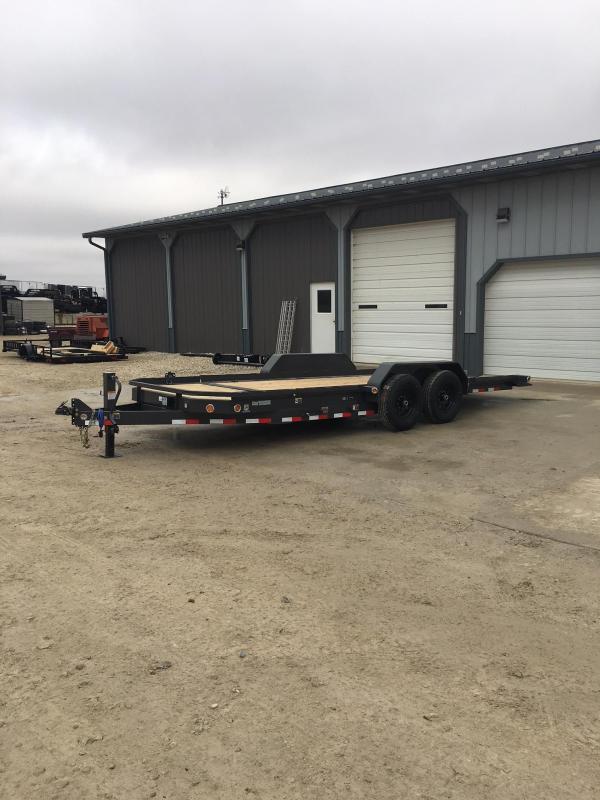 2018 Load Trail 83X20 14K LOW PRO TILT Equipment Trailer