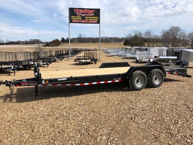 2018 Load Trail 83X22 14K MAX RAMPS Equipment Trailer