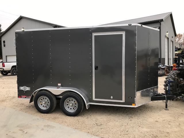 2018 Stealth Trailers 7X12 TANDEM AXLE MUSTANG Enclosed Cargo Trailer