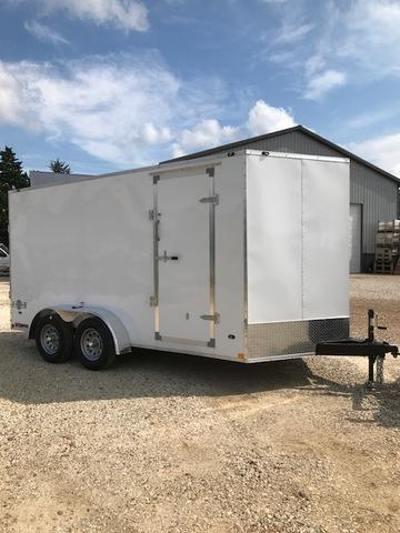 2018 Stealth Trailers 7 X 14 Tandem Enclosed Cargo Trailer 6' 6