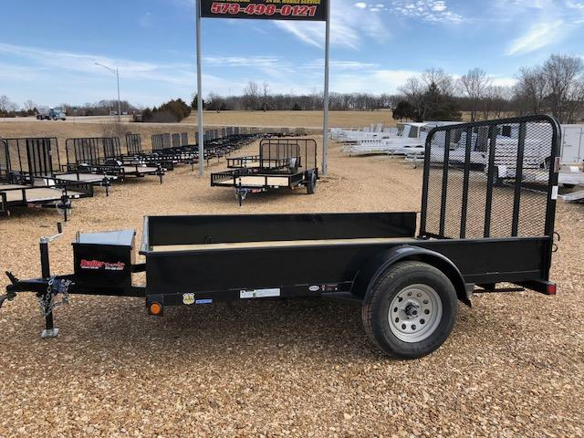 2018 Load Trail 77X10 SS SOLID SIDE Utility Trailer