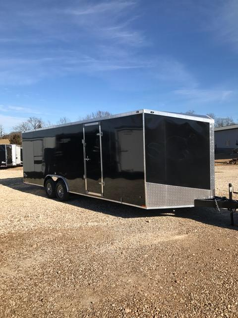 2017 Stealth Trailers 55517 Enclosed Cargo Trailer 8.5' X 24' BEAVERTAIL D-RINGS 10K