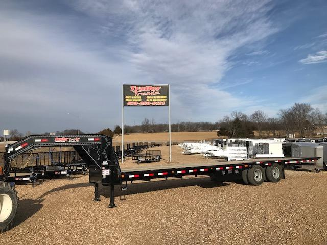 2018 Load Trail 102X32 LOW PRO HYD DOVE AND JACKS Flatbed Trailer
