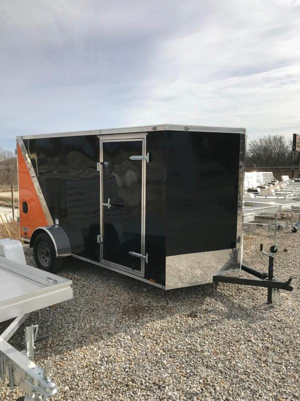 2018 Continental Cargo 6.5x12 EXTRA WIDE RAMP DOOR Enclosed Cargo Trailer