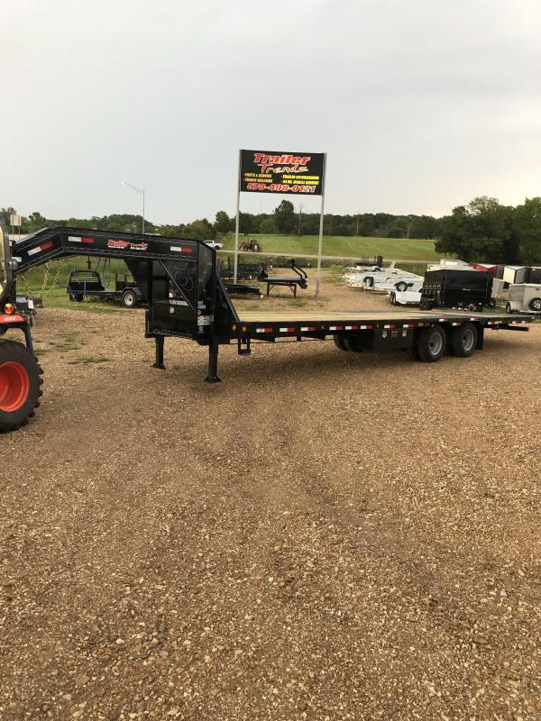 2019 Load Trail 2019 102X32 LOADTRAIL GOOSENECK CARHAULER Flatbed Trailer