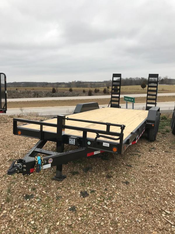 2018 Load Trail 83X20 14K TANDEM AXLE Equipment Trailer