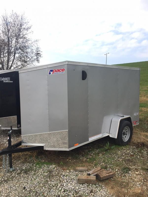 2018 Pace American OUTBACK 5X10 Enclosed Cargo Trailer