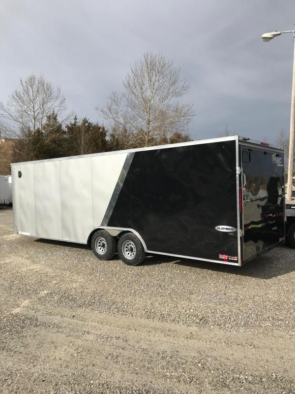 2018 Look Trailers 8.5x24 ELEMENT SE 10K Enclosed Cargo Trailer