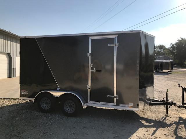 2018 Continental Cargo 7X14 VEE SERIES SIDE BY SIDE PACKAGE Enclosed Cargo Trailer