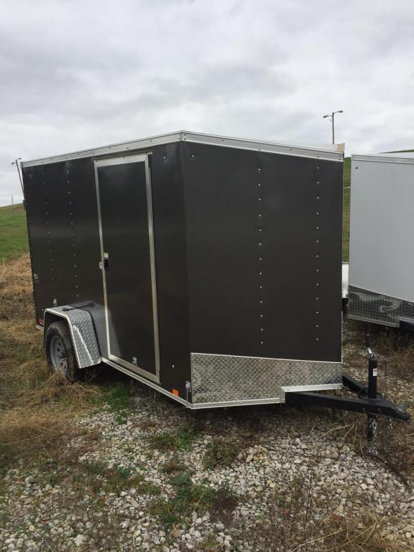 2018 Look Trailers 6X10 ST DELUXE Enclosed Cargo Trailer
