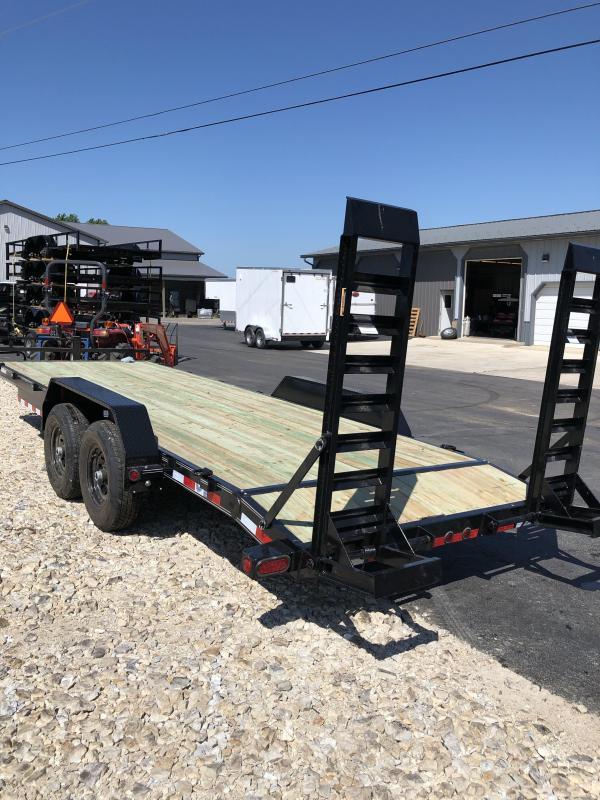 2020 Load Trail 83X20 LOADTRAIL CARHAULER 2' DOVE BLACK Car / Racing Trailer