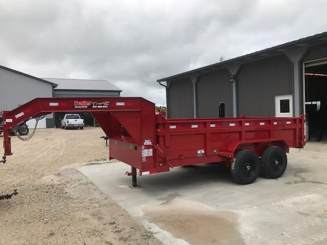 2017 Load Trail 83X14 GOOSENECK STD HEIGHT Dump Trailer
