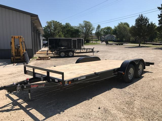 2017 Load Trail CH8318 Flatbed Trailer 7K 2' DOVE SLIDE IN RAMPS