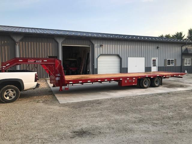 2017 Load Trail 102X30 GL LOW PRO HYD DOVE Flatbed Trailer