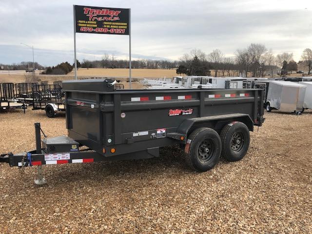 2018 Load Trail 6X12 10K GRAY Dump Trailer