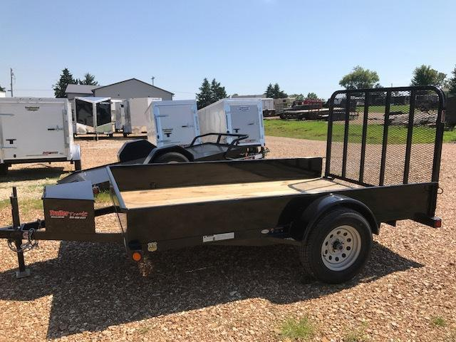 2017 Load Trail 77X10 SOLID SIDE Utility Trailer