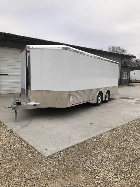 2017 Sundowner Trailers A1558 Enclosed Cargo Trailer 8.5' X 24' XTRA SERIES WHITE